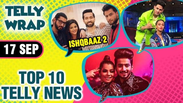 Faisu New Music Video, Erica Fernandes WORKOUT, Pooja Banerjee Quits Nach Baliye 9   Top 10 News