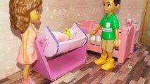 Bebek Bakma Problemi | Sabri ve Ailesi | Bebek Bakma Oyunları