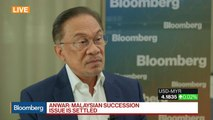 Malaysia's Anwar Sees Succession Happening Around May 2020