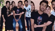 Alia Bhatt HUGS Ranbir Kapoor in Akansha Ranjan birthday party | FilmiBeat