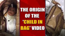 No, a child was not being trafficked in a bag from Karachi to Dubai |OneIndia News