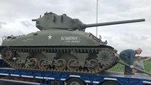 Un char Sherman dans le Finistère