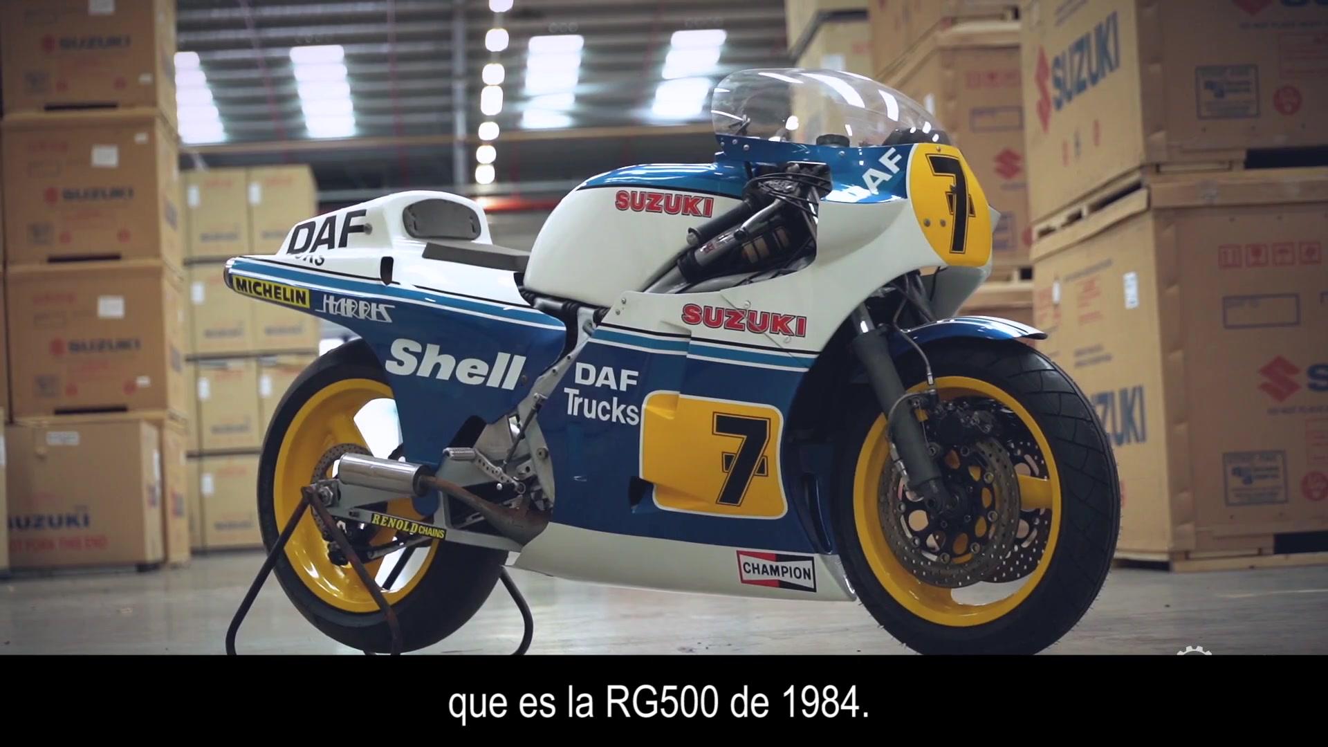 Suzuki restores Barry Sheene motorcycles for Motorcycle Live