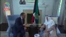 أمير الكويت يستقبل مرزوق الغانم بمقر إقامته فى أمريكا