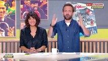 Le caméraman de la journaliste Carine Galli percuté par un ballon de foot lors d'un duplex sur la chaîne L'Equipe - VIDEO