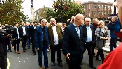 Bloody Sunday families arrive for Soldier F hearing