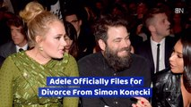 Adele Is Fully Divorced