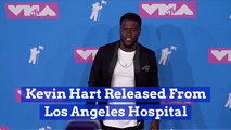 Kevin Hart Is No Longer In The Hospital
