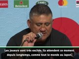 """Japon - Joseph : """"Les joueurs attendent ce moment depuis longtemps"""""""