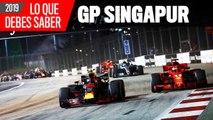 Llegamos al GP Singapur F1 2019, una carrera muy esperada