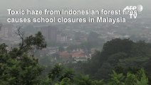 Toxic haze closes Malaysia schools