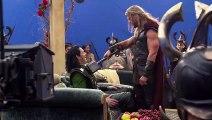 Chris Hemsworth hit Tom Hiddleston for real on 'Avengers' movie set