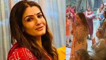 Raveena Tandon becomes Nani, brings home her grand baby | FilmiBeat