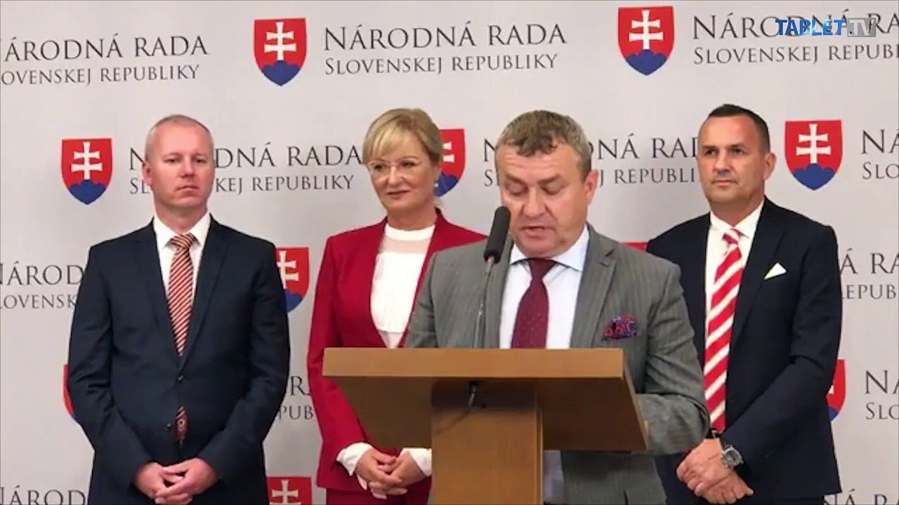 ZÁZNAM : TK poslancov D. Tittela, T. Jančulu a E. Smolíkovej