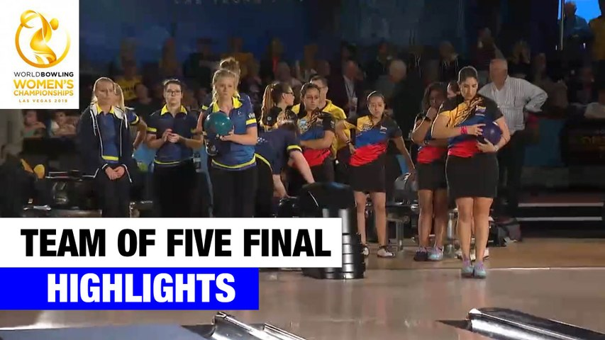 Team of Five Final Highlights - World Bowling Women's Championships 2019