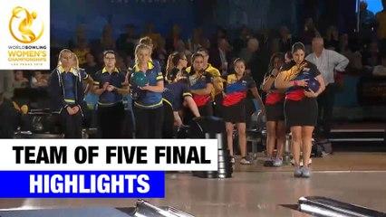 Team of Five Final Highlights - World Bowling Women's Championships 2019