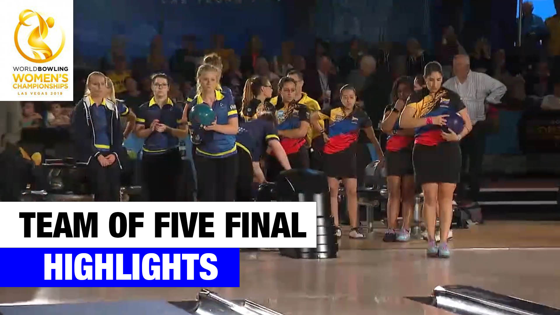 Team of Five Final Highlights – World Bowling Women's Championships 2019
