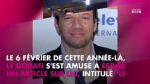 Samuel Le Bihan plein d'autodérision : La fois où il a taclé Le Gorafi