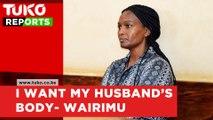 Sarah Wairimu demands Tob cohen's body