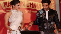 Mouni Roy & Rajkummar Rao cook up at Made In China trailer launch;Watch video | FilmiBeat