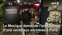 Enchères d'Art précolombien à Paris: la maison de vente réagit
