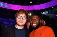 Ed Sheeran breaks hiatus to join Khalid on stage