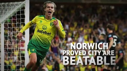 Norwich proved City are beatable - Hoddle