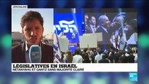 Législatives en Israël : le pays dans une nouvelle impasse politique