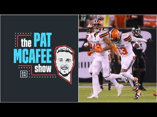 Pat McAfee Reacts To OBJ's Return To New York