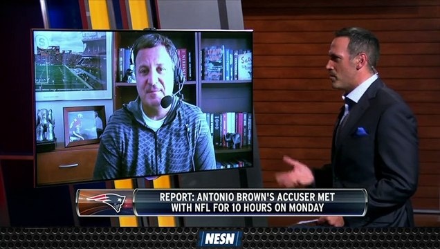 What's Next For Antonio Brown After Accuser Met With NFL?