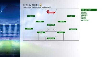 Ligue des Champions - Les dernières infos avant PSG / Real Madrid