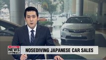 Sales of Japanese cars in S. Korea dropped by 56.9% y/y in August