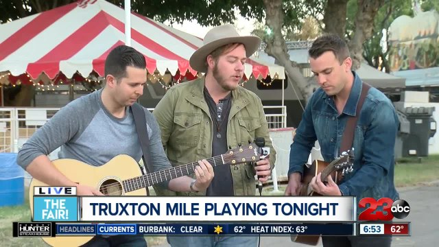Truxton Mile performs live on 23ABC ahead of Kern County Fair show