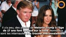 Melania Trump : des photos  du passé interrogent sur sa  possible chirurgie esthétique !