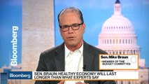 Sen. Mike Braun Says U.S. Economy is `As Hot As It's Ever Been'