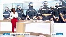 Pompiers : cinq pompiers décorés de la Légion d'honneur
