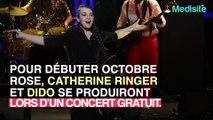 Catherine Ringer et Dido donnent un concert gratuit pour Octobre Rose