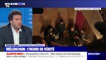 """Procès: """"M.Mélenchon, il est humain, c'est très impressionnant d'être renvoyé devant un tribunal"""", réagit Mathieu Davy, l'avocat de Jean-Luc Mélenchon"""
