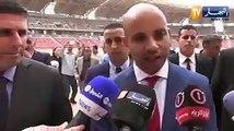 """Bernaoui : """"La pelouse du stade d'Oran est celui du Bernabeu"""""""