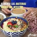 Fuentes de fibra que podrían aliviar tu salud intestinal