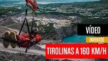 [CH] Tirolinas extremas a 160 Km/h