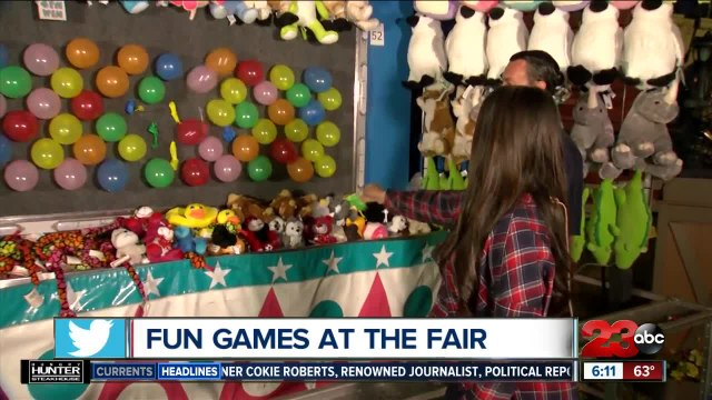 Fun games at the Kern County Fair