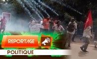 Reportage : Répression de la marche des syndicats au Burkina
