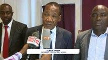 Football |  Les réactions de Vagba Alexis après la présentation du nouvel entraîneur de l'Africa Sports