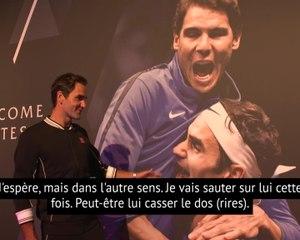 Laver Cup - La visite guidée de Roger Federer, qui en profite pour chambrer Nadal