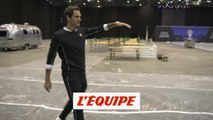 Visite guidée avec Roger Federer - Tennis - Laver Cup