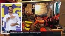 Italie : une nouvelle politique pour les migrants ?
