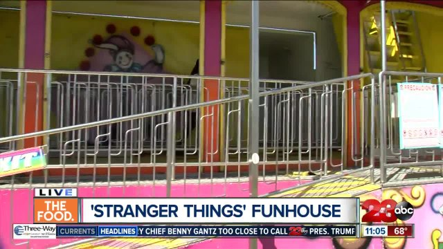 'Stranger Things' Funhouse at Kern County Fair