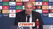 Zidane « Paris a été supérieur » - Foot - C1 - Real