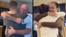 Families Get Emotional During Heartwarming Military Reunions